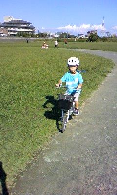 自転車補助なし